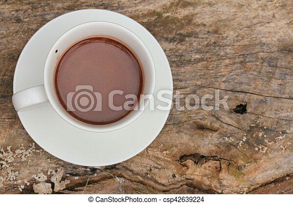 chocolat chaud - csp42639224
