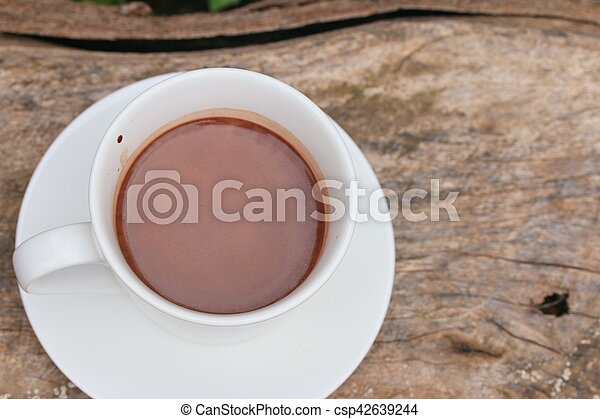 chocolat chaud - csp42639244
