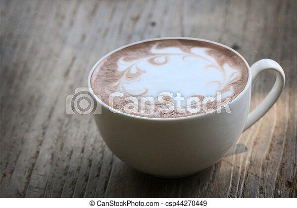 chocolat chaud - csp44270449