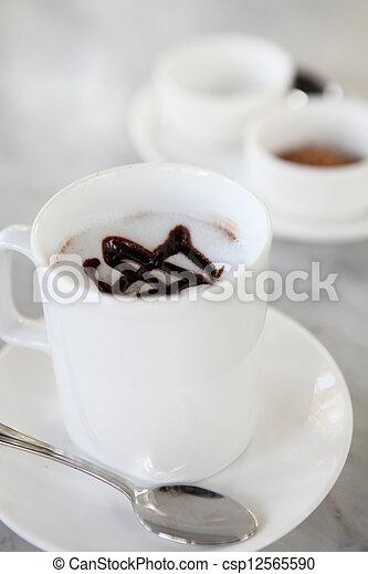 chocolat chaud - csp12565590