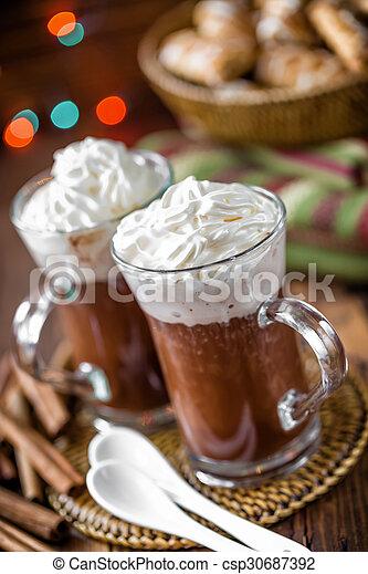 chocolat chaud - csp30687392