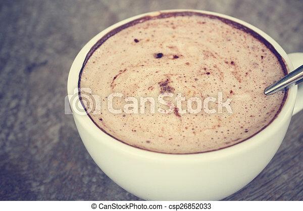 chocolat chaud - csp26852033