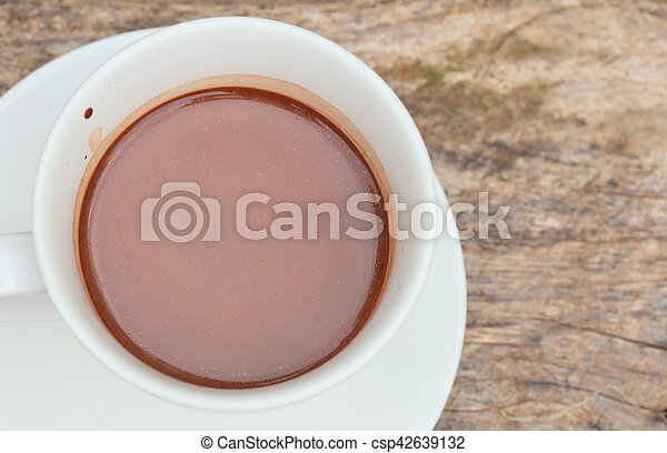 chocolat chaud - csp42639132