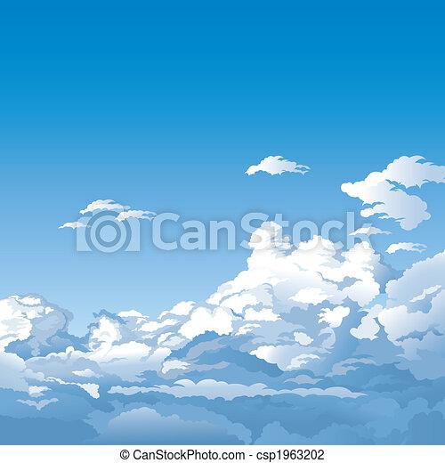 ciel, nuages - csp1963202