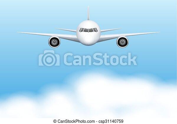 civil, avion, avion - csp31140759