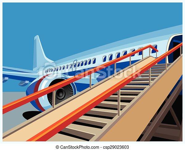 civil, avion - csp29023603