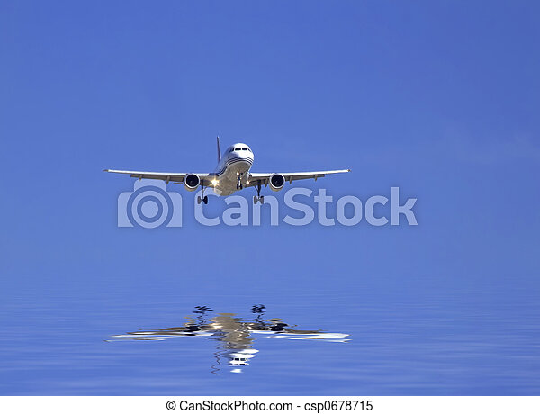 civil, avion - csp0678715