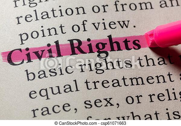 civil, définition, droits - csp61071663