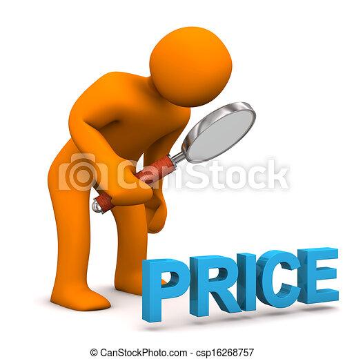 coût, loupe, homoncule - csp16268757