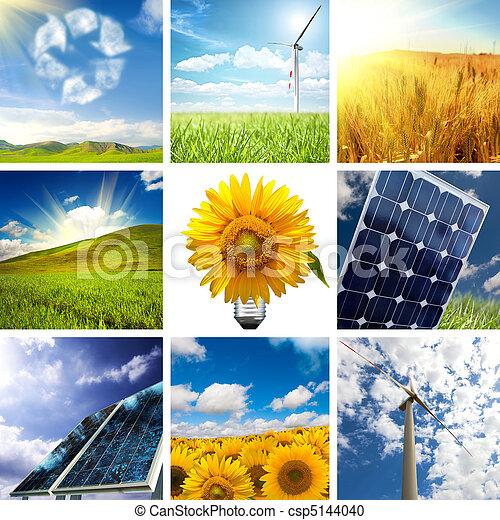 collage, nouveau, énergie - csp5144040