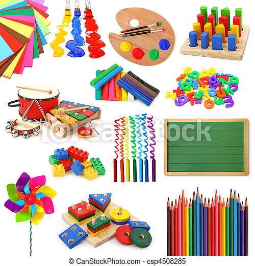 collection, jouets - csp4508285