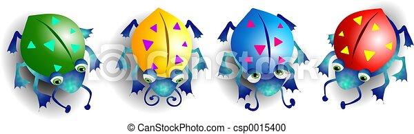 coloré, bogues - csp0015400