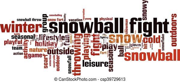combat snowball - csp39729613