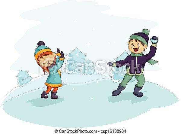 combat snowball - csp16138984