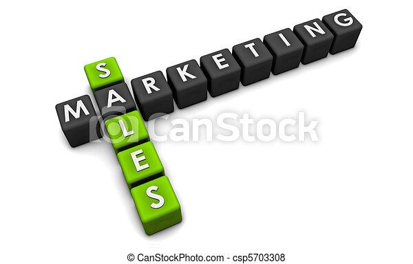 commercialisation, ventes - csp5703308