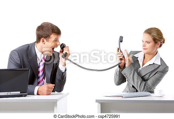 communication, business - csp4725991