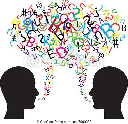 communication, symbole - csp7909020