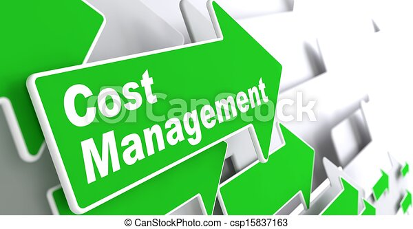 concept., cout, management., business - csp15837163