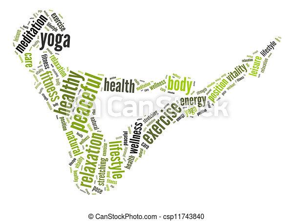 concept., santé, fitness - csp11743840