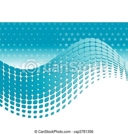 conception abstraite, ton, fond - csp3781356