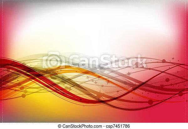 conception abstraite, ton, fond - csp7451786