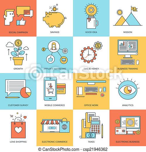 concepts., business - csp21946362