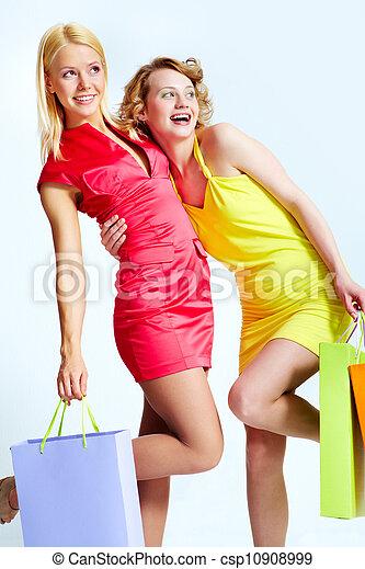 consommateurs, heureux - csp10908999