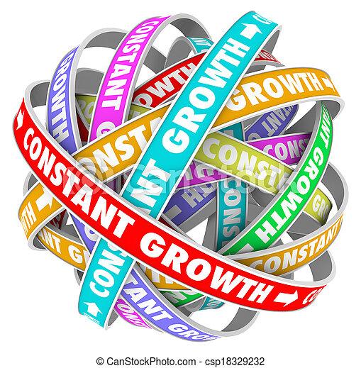 constante, obtenir, always, amélioration, mieux, croissance, apprentissage - csp18329232