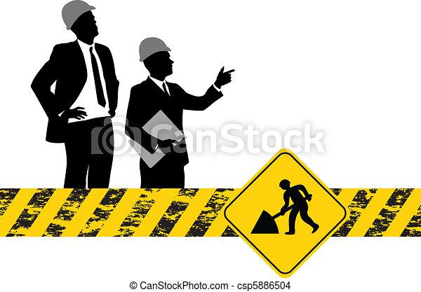 construction, fond - csp5886504