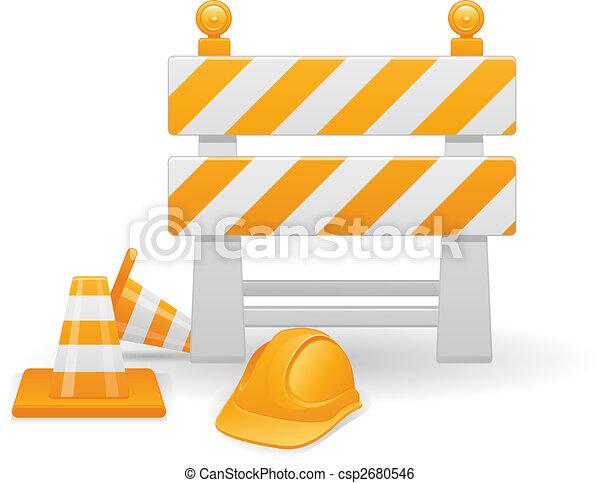 construction, image, vecteur, sous - csp2680546