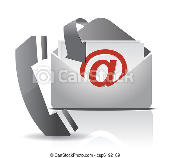 contact, conception, nous, illustration - csp6192169