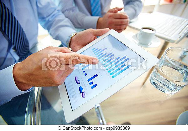 contemporain, business - csp9933369