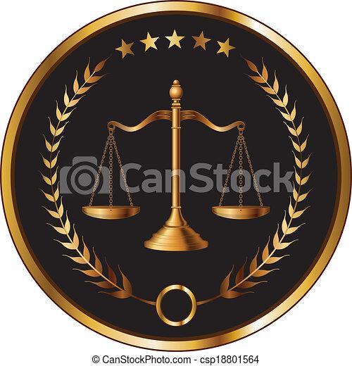 couche, droit & loi, ou, cachet - csp18801564