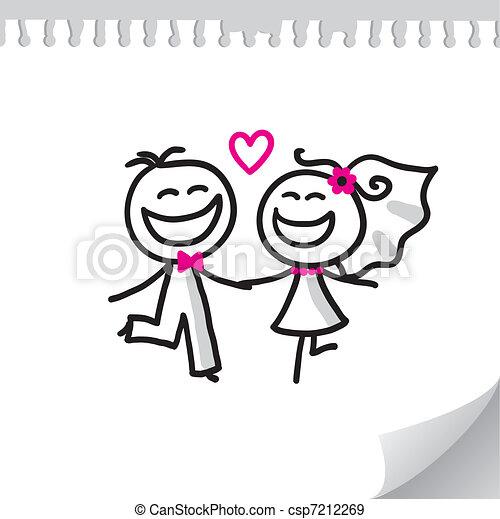 couple, mariage - csp7212269