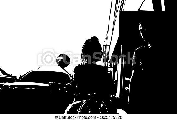 couple, rue - csp5479328