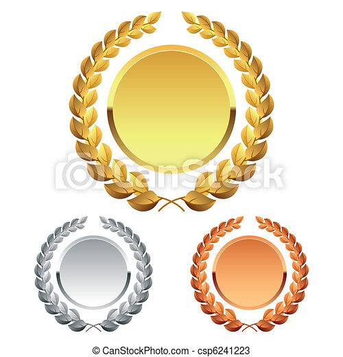 couronne laurier - csp6241223