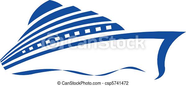 croisière bateau - csp5741472
