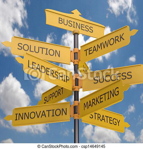 croissance, business - csp14649145