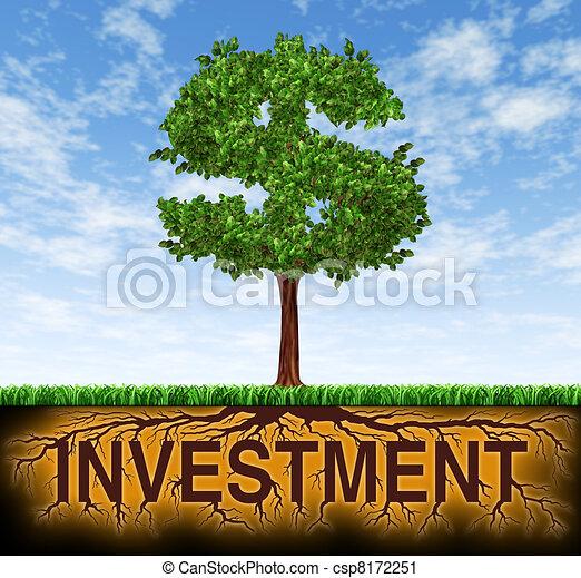 croissance, investissement financier - csp8172251