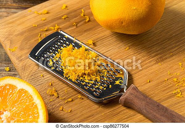 cru, zeste, orange, organique - csp86277504