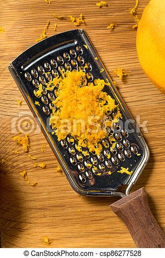 cru, zeste, orange, organique - csp86277528
