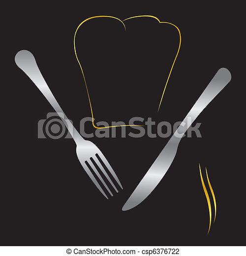 cuisine, illustration - csp6376722