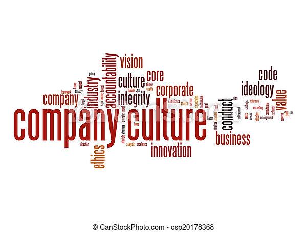 culture, compagnie, mot, nuage - csp20178368