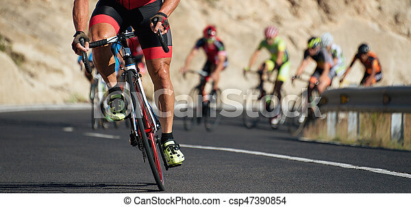 cyclisme, concurrence - csp47390854