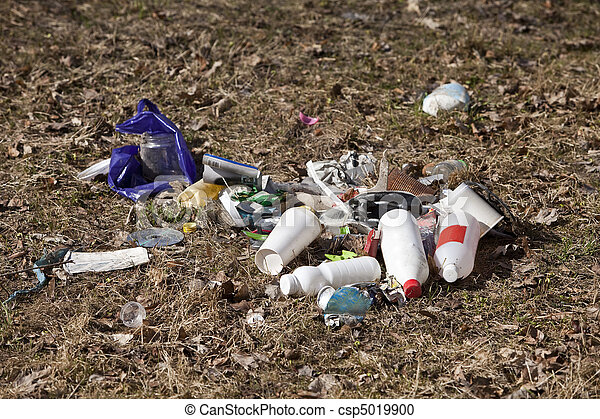 décharge ordures - csp5019900