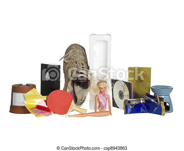 décharge ordures - csp8943863