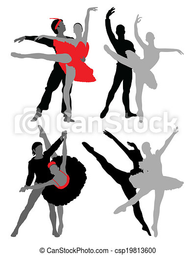 danseurs, ballet - csp19813600