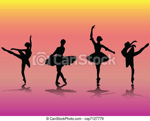 danseurs ballet - csp7127779