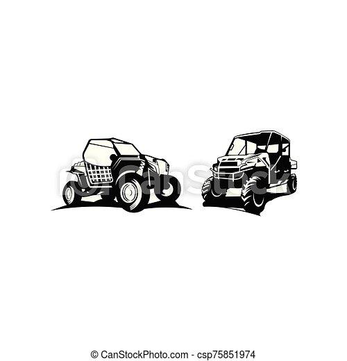 de-route, inspiration, voiture, logo - csp75851974