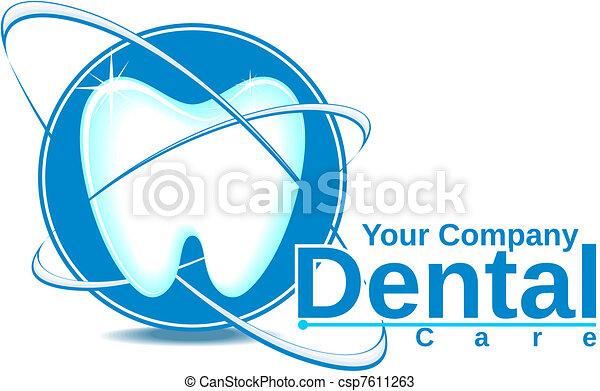 dentaire, logotype - csp7611263